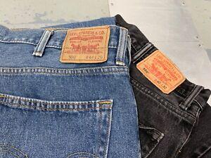 Hombre-Vintage-Levis-550-Relajado-Jeans-Fit-Todas-las-Tallas-y-Colores-W30-W58
