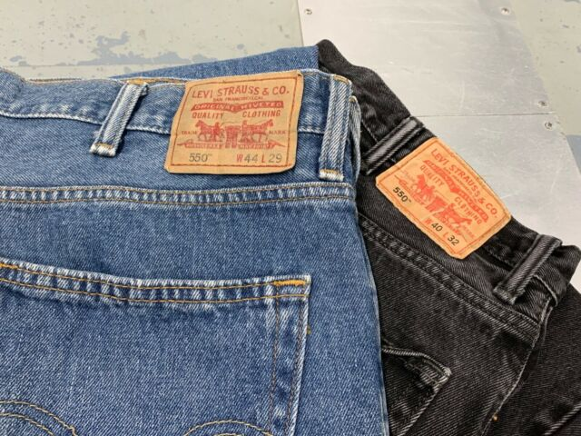 Details zu MENS VINTAGE LEVIS 550 RELAXED FIT JEANS ALL SIZES AND COLOURS W30 W58