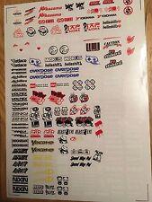 RC DRIFT JDM CAR COLOR N5 Sticker Label Yokomo MST HPI Tamiya Overdose