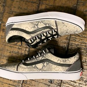 7ea77ba8ef885a Vans Old Skool Ghillie Nylon Snake Forged Iron Sz 11 VN0A3TKIUAZ
