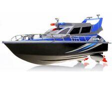 1:20 Police Patrol Cruiser RC Boat Electric Remote Control 4CH RTR Blue