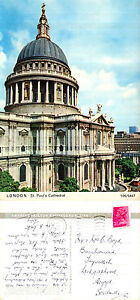 1972-St-PAULS-CATHEDRAL-LONDON-COLOUR-POSTCARD