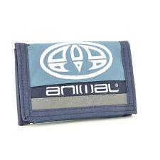 Animal Uomo rovor Tri-Fold Wallet in tessuto-SS17: Cadet Blu Navy