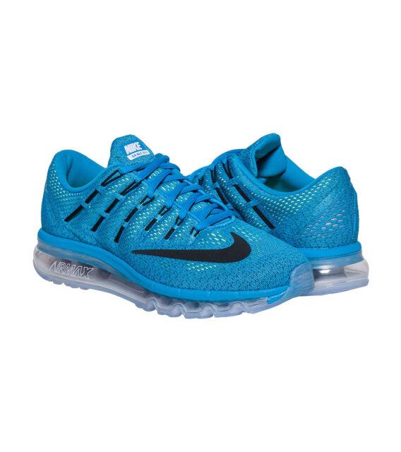 f31bdb25aa WMNS Nike Air Max 2016 (GS) SZ 6Y Blue Lagoon Black 807236-400 | eBay
