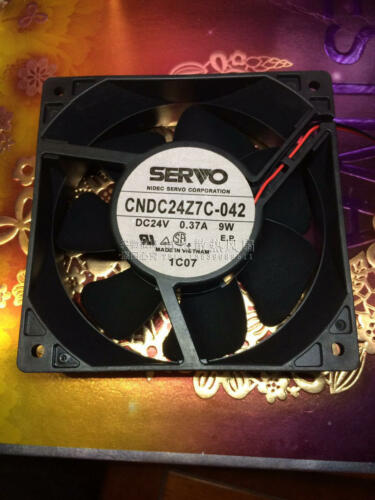 1pcs SERVO CNDC24Z7C-042 24V0.37A 9W VACON Drive Fan