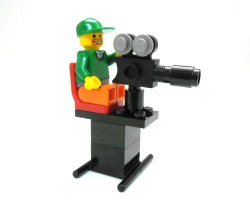 LEGO Kameramann mit Kamera MOC aus Neuteilen.