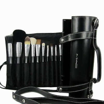Professional make-up tools animal hair 16pcs with Cylindrical makeup brush sets