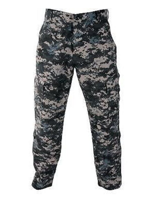 US Propper Acu Blu Navy NWU DOMATO combattimento Pantaloni Battaglia Rip Sig.