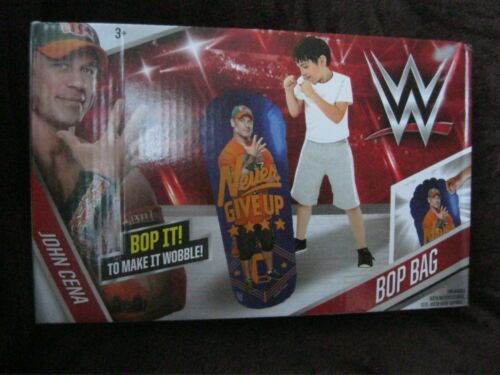 WW WRESTLING BOP SAC JOHN CENA bop à faire IT Wobble New in Box 80 cm Haute