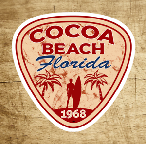Cocoa-Beach-Florida-Sticker-Decal-Vinyl-3-034-Surfing-Surfer-Surf