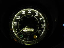 Land Rover Series 2 2a POSITIVE EARTH Replacement Gauge Warm White LED bulb Kit