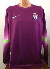 898c879df USA Soccer Nike Dri-fit Goalkeeper Keeper Jersey 578659 Player Issue Mens L