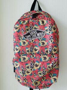 Vans Off The Wall Star Wars Aloha Yoda Backpack Limited Edition Bag