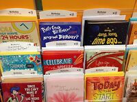Closeout Happy Birthday Cards With Sound Music By Hallmark W/envelpopes Lot 5