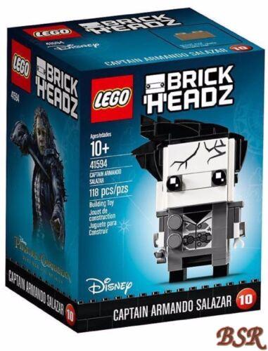 LEGO® Brick Headz 41594 Captain Armando Salazar NEU /& OVP !