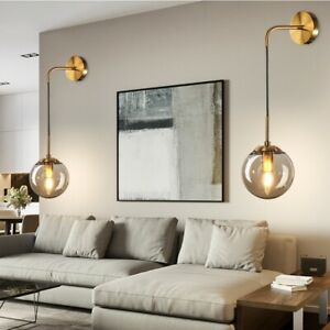 Details zu E9 LED Wandleuchte Innen Modern Wandlampe Wohnzimmer  Schlafzimmer Licht 9cm DE