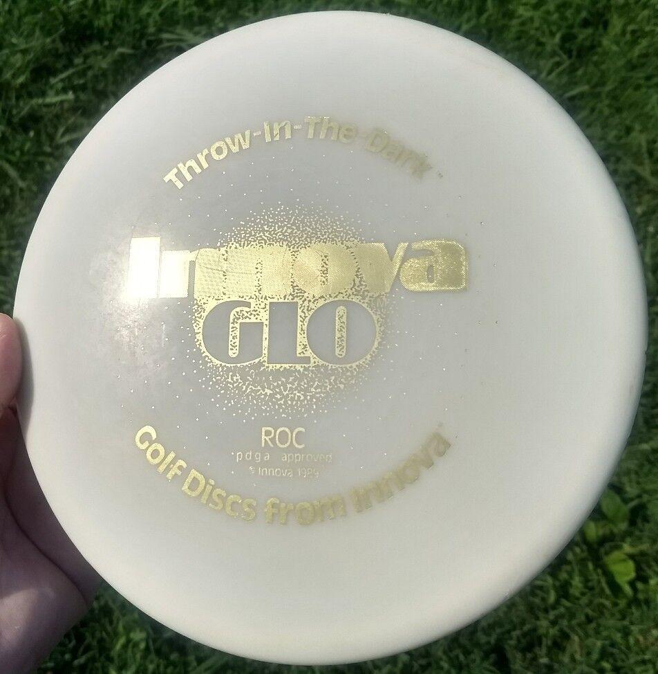 Rare  Vintage Thow-In-The-Dark Innova grams, Glo Roc - 180 grams, Innova OOP, From 1989 73f17b