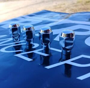 4-ET-Style-Lug-Nuts-1-2-20-Chrome-13-16-Hex-Ford-Dodge