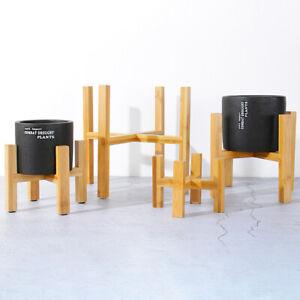 Wooden-Shelf-Rack-Holder-Plant-Flower-Pot-Stand-Wood-Home-Garden-Display-Tool