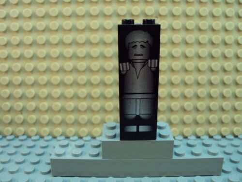 Lego Minifig Star Wars ~ Han Solo Frozen In Carbonite ~ From Set 7144