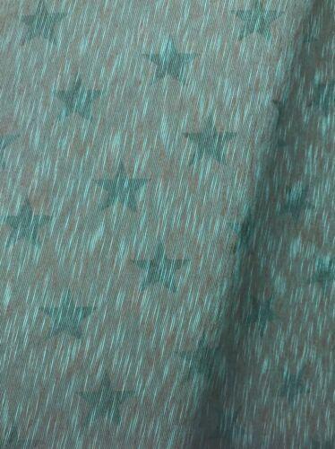 Jersey Stoff Sterne meliert 2 Farben  Breite 150cm ab 50cm