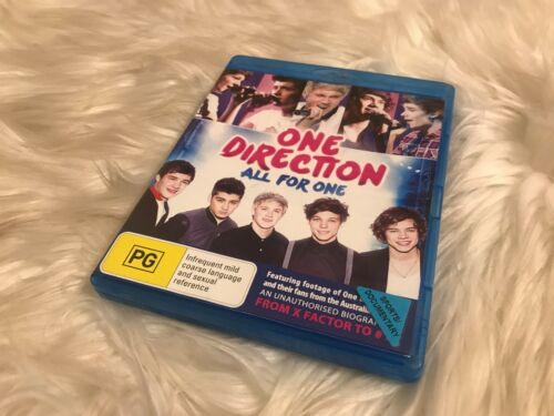 1 of 1 - One Direction All For One Blu Ray Free Postage!