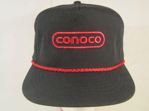 Z168b Vintage Mens Cap CONOCO Embroidered