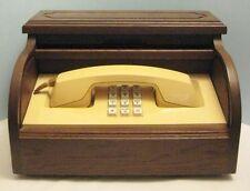 Old Vintage Western Electric Telephone hidden in Miniature Roll Top Desk - Phone
