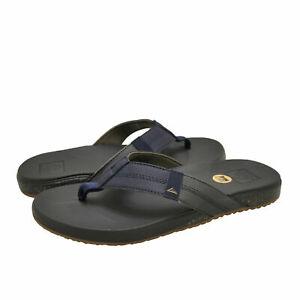 Reef-Cushion-Bounce-Phantom-Tan-Navy-Men-039-s-Sandals-RF0A3FDI-Flip-Flops-New