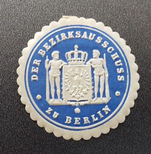 Siegelmarke-Vignette-DER-BEZIRKSAUSSCHUSS-zu-BERLIN-8166-2