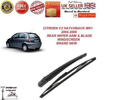 Rear wiper arm blade set Citroen C3 2002-2010