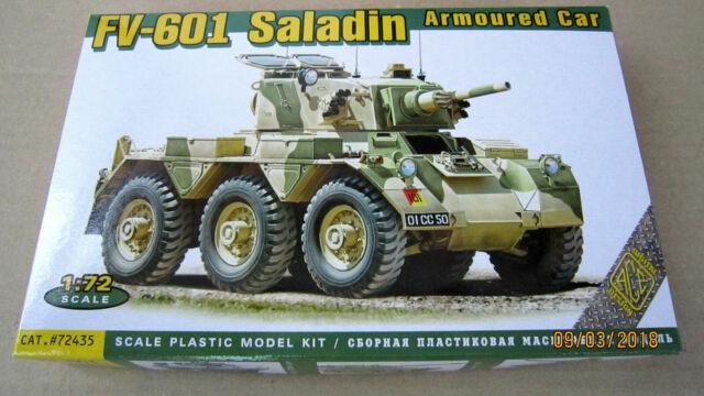 Fv-601 Saladin Armored Car ACE #72435 1 72 Scale