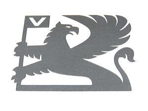 Genuine-New-Anthracite-VAUXHALL-GRIFFIN-DECAL-Emblem-Logo-for-Nova-SRi-Astra-GTE