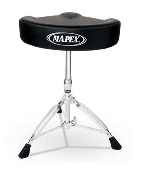 Mapex T575A Drum Stool Throne Vinyl Saddle Top