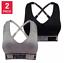 New-Women-039-s-Puma-Medium-Impact-Seamless-Sports-Bra-2-Pack-VARIETY-SZ-CLR-C43 thumbnail 6