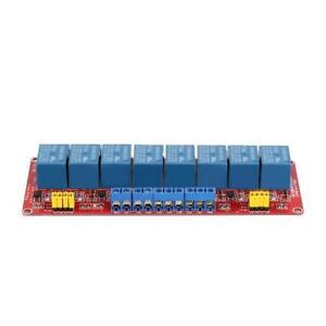 1//2//4//8 Channel 5V 12V 24V Relay Module Optocoupler Isolation H//L Level Trigger