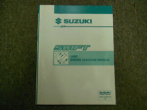 1995 suzuki swift electrical wiring diagram shop manual factory oem image is loading 1995 suzuki swift electrical wiring diagram shop manual asfbconference2016 Image collections