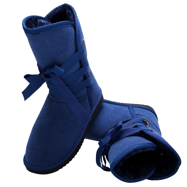 Zeagoo Winter Faux 5 Fur Snow Boot UK 5 Faux EU 38 LN36 05 a7659a