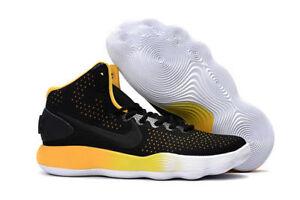 Copuon Nike Hyperdunk 2017 Mid Yellow Black