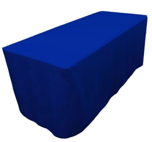 Fitted Table Cover WATERPROOF Table Cover Patio Shows Outdoor  10 Colors 6/' ft