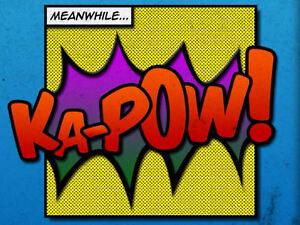 Comic Book Picture Print Batman Superman Marvel BOOM Pop Art Framed Print