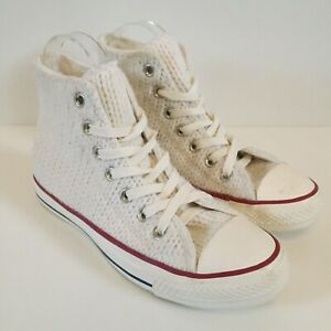 Converse All Star Knitted White Knit