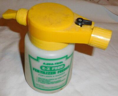 Vintage Aqua Trol E Z Feed Fertilizer Feeder For Lawn And Garden