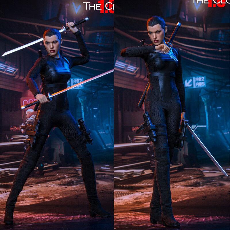 12  acción figura SwJuguetes FS018 1 6 escala Resident Evil El Clon Alice 2.0 Juguetes