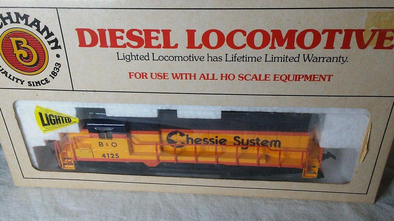 Vintage Bachman GP30 Chessie Diesel Locomotive