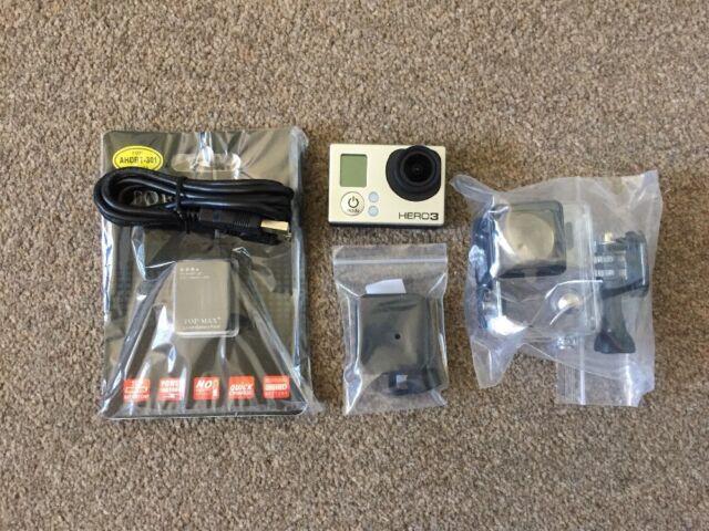 REFURBISHED Black GoPro HERO3 Edition Camcorder w/ NEW ACCESSORIES