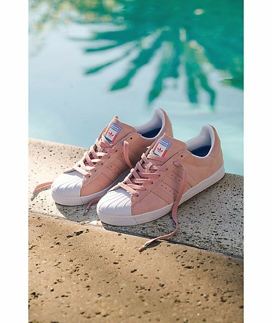 8664dcb9e63e adidas Superstar Vulc ADV Pink Pastel Skate Shoe Sneaker - Size 9.5 ...