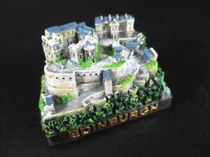 Edinburgh-Castle-Modell-aus-Poly-Souvenir-Schottland-Scotland-Neu
