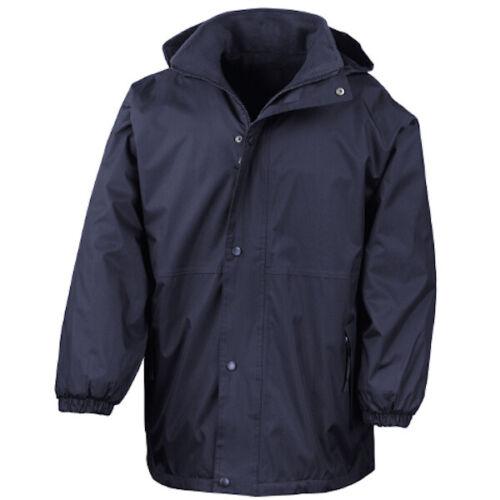 R160A Reversible StormDri 4000 Black Large Jacket Coat Warm Workwear Winter