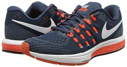 Comfortable and good-looking Nike Zoom Vomero 11 Mens Running Training Shoes Squadron Blue/Crimson 818099 401